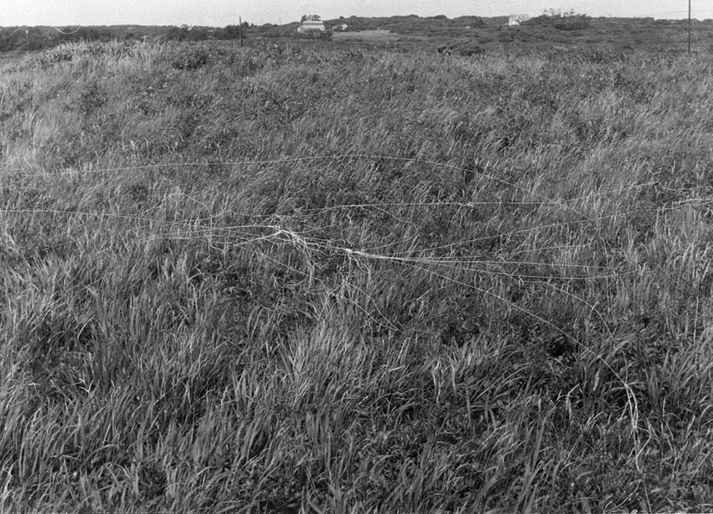 wind blown canvas thread flown with a kite